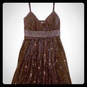 Black Sequin cocktail dress | Size M